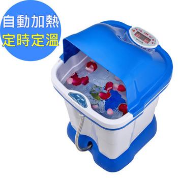 《勳風》尊榮藍鑽級超高桶加熱式SPA泡腳機(HF-3769)(附贈Y型管可SPA膝蓋與大腿)