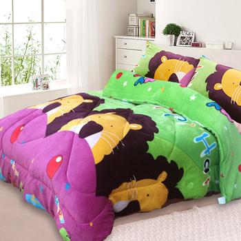 三浦太郎 法蘭絨超厚感暖暖被/毯被-7款任選(獅子童話)