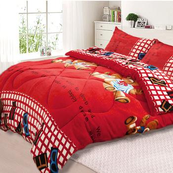 三浦太郎 法蘭絨超厚感暖暖被/毯被-7款任選(童趣小熊)