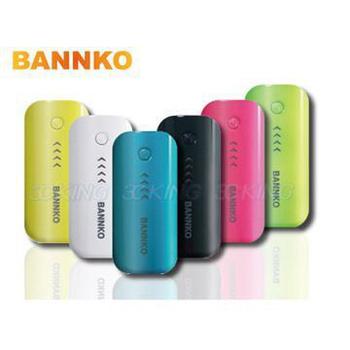 BANNKO 5200mAh 流線造型行動電源 CT17(綠色)