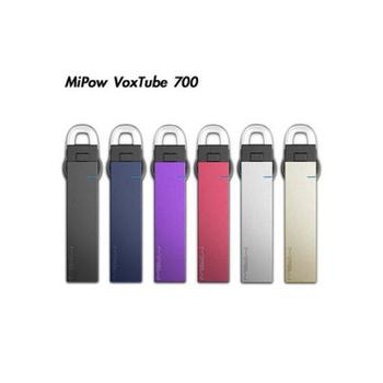 Mipow VoxTube 700 超薄鋁合金藍牙耳機(紫色)