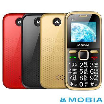 摩比亞 MOBIA M103 3G 直立式 老人手機-贈 手機保護套(土豪金)