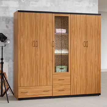 《Homelike》黑森林7x7尺衣櫃