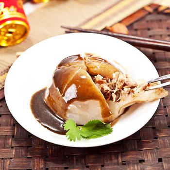 樂活e棧 冬至湯圓 蔬食達人- 素肉圓 6顆/袋,共4袋(香樁沙茶醬)