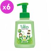 《綠的GREEN》抗菌潔手慕斯-草原泡泡(500ml*6入組)