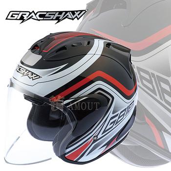 ★結帳現折★GracShaw 【1:1類RAM4 安全帽】非LUBRO RACE TECH II(OX白S)