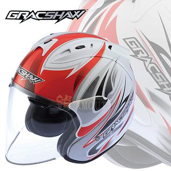 ★結帳現折★GracShaw 【1:1類RAM4 安全帽】非LUBRO RACE TECH II(BZ紅S)