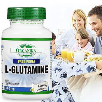 Organika優格康 左旋麩醯胺酸500mg (90顆)(單瓶)