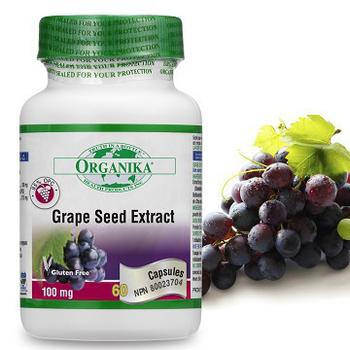 Organika優格康 高單位葡萄籽(95%OPC)(60顆 60天份)(單瓶)