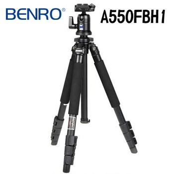 BENRO 百諾 鎂鋁合金 A550F 腳架+BH1 雲台 都市精靈系列扳扣式套組 A550FBH1