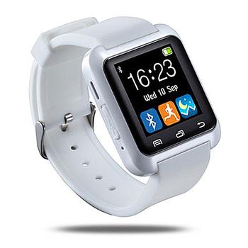 長江 W1藍牙多功能觸控智慧手錶(白色)