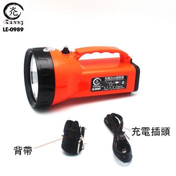 威電 LE-0989充電式LED探照燈 1入