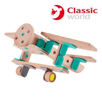 德國 classic world創意拼裝飛機組