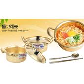 哈韓必備的金色泡麵鍋與扁筷組(一組入)(一組入)