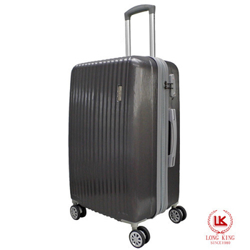 LONG KING 24吋ABS歐風時尚行李箱 LK-8011/24(深灰)
