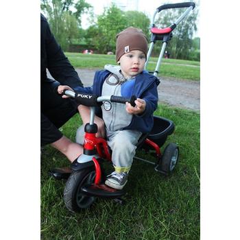 德國原裝進口PUKY 兒童多功能三輪車 CAT S2 CEETY(PUKY紅)