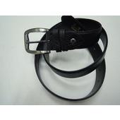 《B.marter》台灣製 針棒式雙面牛皮休閒皮帶  保證耐用不脫皮#346001(帶身34mm寬休閒皮帶)