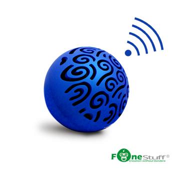 Fonestuff [福利品] 魔球 藍芽攜帶型喇叭(藍色)