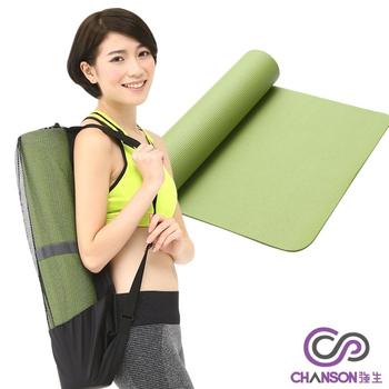 強生CHANSON 瑜珈運動墊《6mm》CS-1007(顏色隨機出貨)