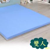 《戀香》舒優防潑水雙人床墊(藍)