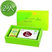 《台糖》元氣舒活保健禮盒(精選青邁魚油+紅麴膠囊)(2盒/組)