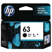 《HP》HP F6U62AA NO.63 原廠黑色墨水匣(HP F6U62AA NO.63 原廠黑色墨水匣)