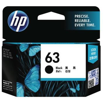 HP HP F6U62AA NO.63 原廠黑色墨水匣(HP F6U62AA NO.63 原廠黑色墨水匣)