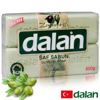 《土耳其dalan》頂級橄欖油活膚皂4入超值組(200gX4)買就送歐美香氛皂一入(隨機出貨)