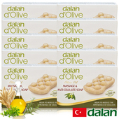 《土耳其dalan》頂級植粹按摩纖體皂10入團購組(150gX10)