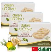 《土耳其dalan》頂級植粹按摩纖體皂3入優惠組(150gX3)