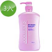 《台塑生醫》Dr's Formula嬰幼童洗髮精700ml(3瓶)
