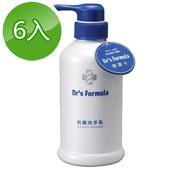 《台塑生醫》Dr's Formula抗菌洗手乳400ml(6瓶)