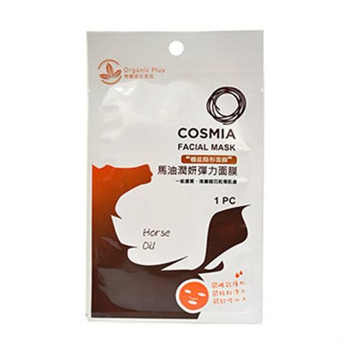 COSMIA 馬油潤妍 彈力面膜(1入)