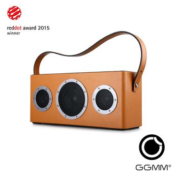 GGMM M4 wifi&藍牙無線音箱-橘黃