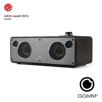 GGMM M3 wifi&藍牙無線音箱-咖啡色