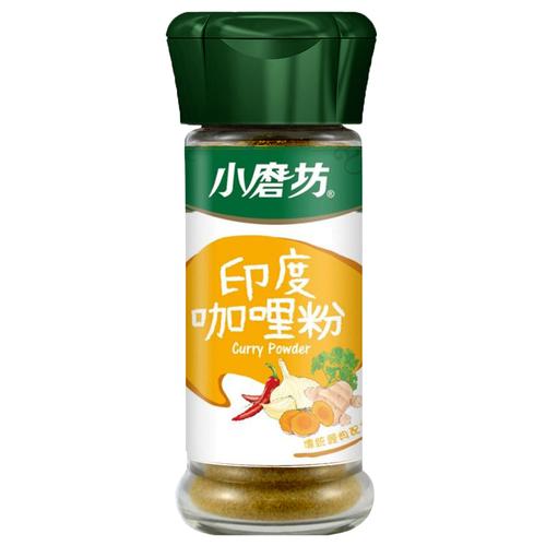 小磨坊 印度咖哩粉(25g/瓶)