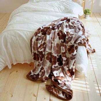 絲薇諾 法蘭絨四季輕柔毯-145×200cm(扶桑花款)