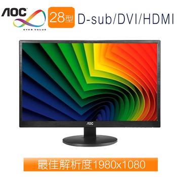AOC艾德蒙 M2870VQ 28型 MVA超廣視角寬液晶螢幕