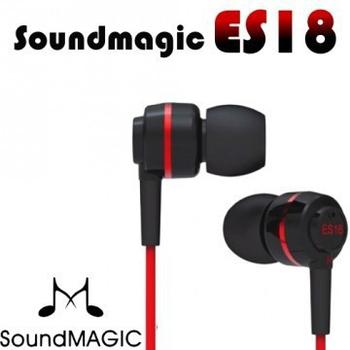 SoundMAGIC 聲美耳機 世界第一高cp值入耳式耳機 魅力無限 ES18(ES18紅色)