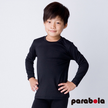 3M-Parabela 發熱衣-兒童-黑色(130)
