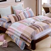 《Indian》布拉格 雙人四件式純綿兩用被床包組