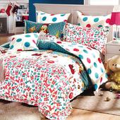 《Indian》聖誕節 雙人四件式純綿兩用被床包組
