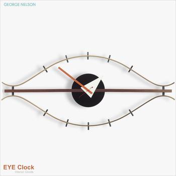 George Nelson 原版經典眼睛掛鐘 Eye Clock