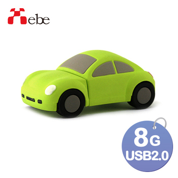 《Xebe集比》8G 造型USB隨身碟(汽車)