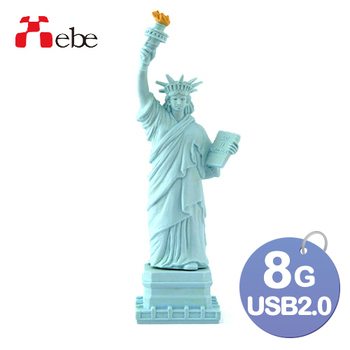 《Xebe集比》8G 造型USB隨身碟(自由女神)