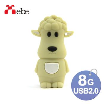 《Xebe集比》8G 造型USB隨身碟(羊咩咩)