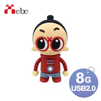 《Xebe集比》8G 造型USB隨身碟(太空人小剪刀)