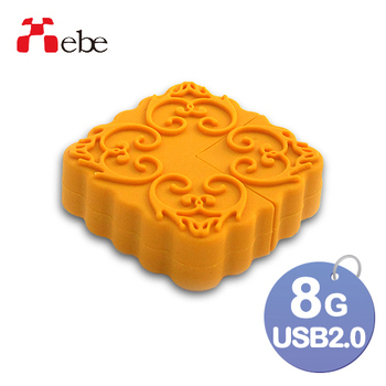 《Xebe集比》8G 造型USB隨身碟(月餅)