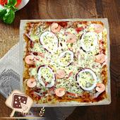 《披薩市》10吋多人分享-義大利海鮮披薩口味(葷)(片)