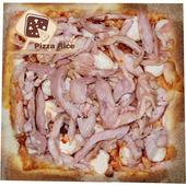 《披薩市》5吋單人獨享-野菇燻雞披薩口味(葷)(片)